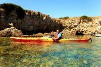 ¿Cuánto vale un kayak para dos personas en Menorca?