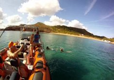 Pack snorkeling in the marine reserve and kayaking + snorkeling in the marine reserve