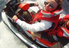 Pack especial parejas, ruta kayak-cuevas + snorkel en la reserva marina y moto de agua de una hora (precio para 2)
