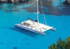 excursion catamaran menorca