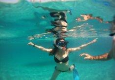 Pack especial parejas, excursión kayak + snorkel en la reserva marina, moto de agua una hora y ruta lancha playas costa norte (precio para 2)