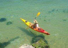 Single kayak hiring for half day