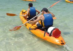 Double kayak for half a day