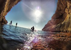 Special pack for couples, paddle surf trip + caves and snorkeling in the marine reserve (price for 2)