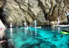Pack Paddle surf excursion north coast (marine reserve) and snorkeling in the marine reserve