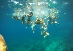 Special pack for couples, boat trip and kayaking-caves trip + snorkeling in the marine reserve (price for 2)