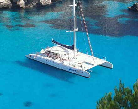 excursion catamaran menorca