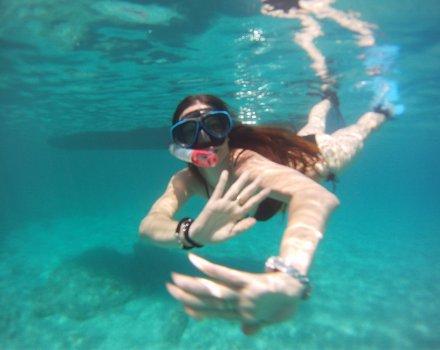 Pack kayaking-snorkel trip + one hour jet ski trip + boat trip around virgin north coast beaches
