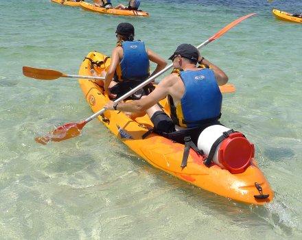 excursion kayak menorca