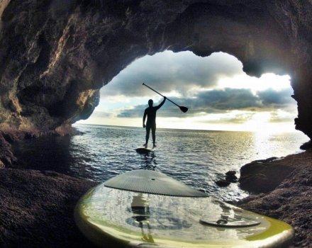paddle surf cuevas menorca