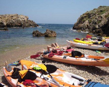 menorca kayak