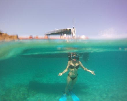 snorkel clienta menorca