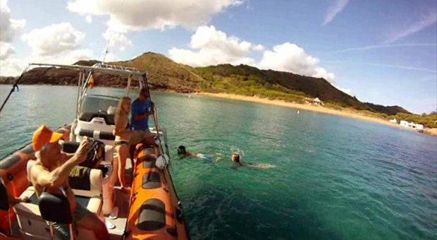 excursion barco menorca