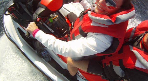 Special pack for couples, kayaking trip + snorkeling in the marine reserve and one hour jet ski trip (price for 2)
