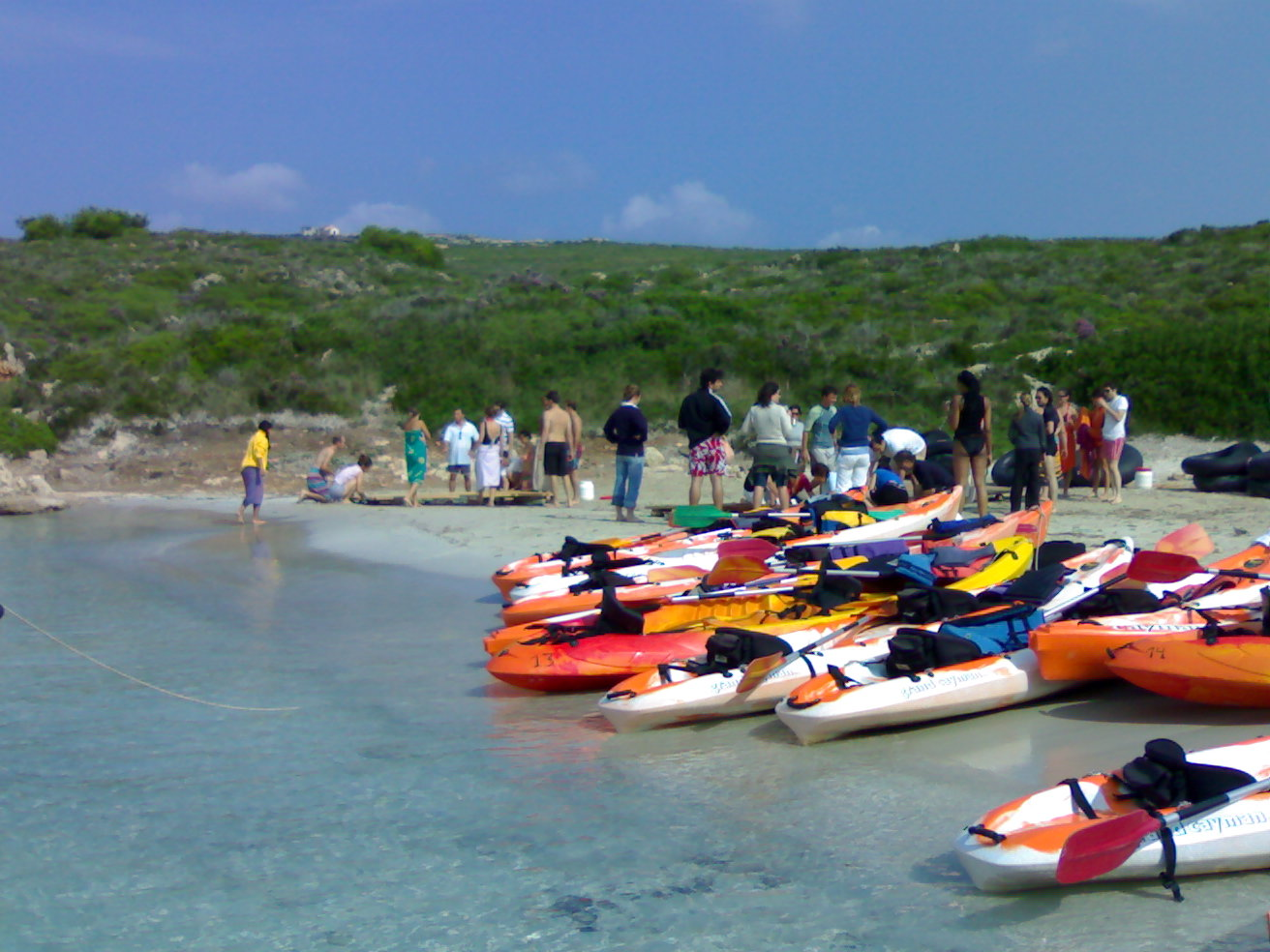 WHY RENT A KAYAK IN MENORCA?
