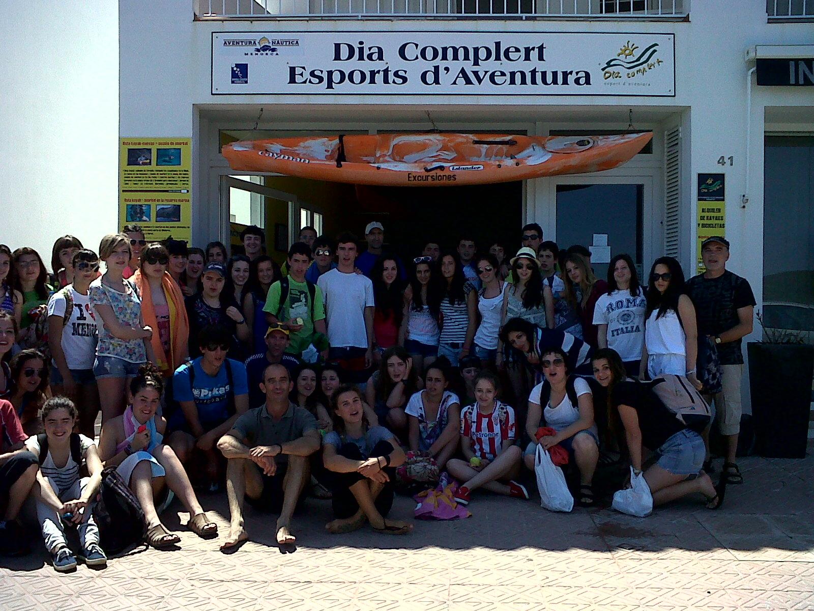 Menorca school groups