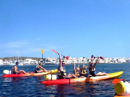 ¿Dónde practicar kayak en Menorca?