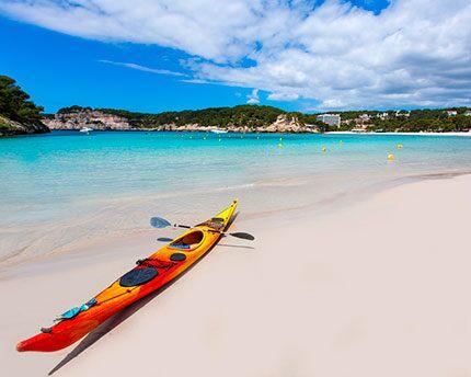 ¿Es seguro hacer kayak en Menorca?